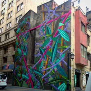 Murales En Santiago Panorama Urbano