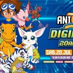 Feria Anicon | Digimon 20 Años!
