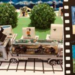 Exposición de cine para niños para aprender y jugar