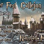 Feria callejón Diagon navidad