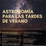 Astronomía para las tardes de verano 2020
