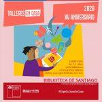 Talleres Online de la Biblioteca de Santiago
