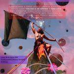 Cordel fotográfico sobre violencia de género y femicidio