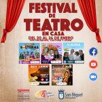FESTIVAL DE TEATRO ONLINE EN SAN MIGUEL