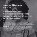 Conversación poesía y musica Charly García